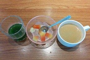朝食バイキングのデザート