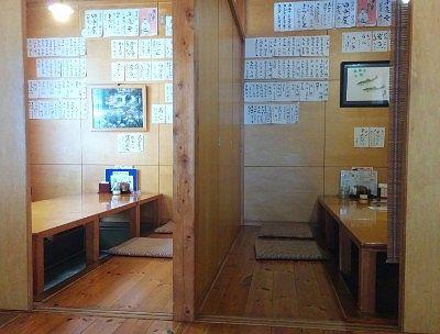 個室風の座敷席