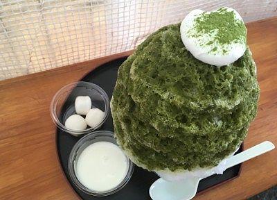 宇治金時カキ氷