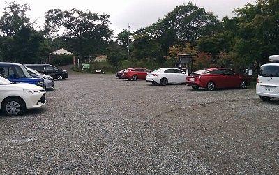 チロリン村の駐車場