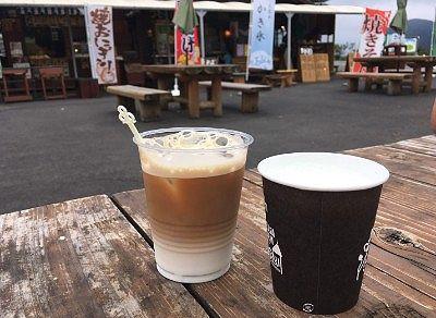 牛乳とカフェオレ