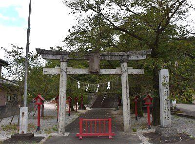 佐野賀茂別雷神社の石鳥居
