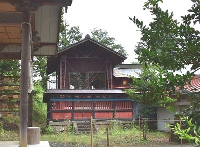 佐野賀茂別雷神社の本殿