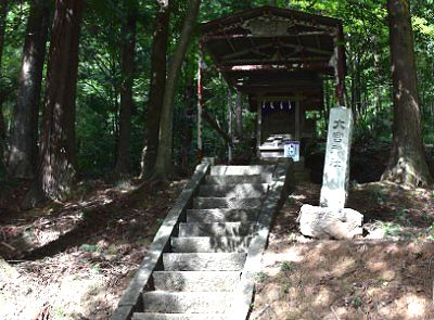 佐野賀茂別雷神社の境内社~大宮神社 奥宮遥拝所