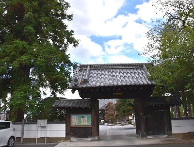 東光寺中門