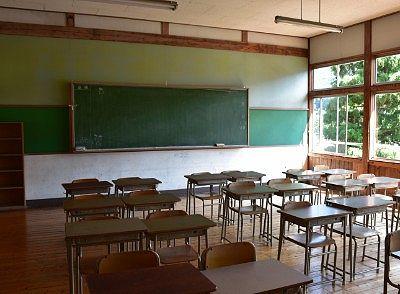 昔の教室の様子