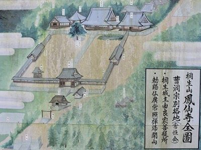 昔の境内図