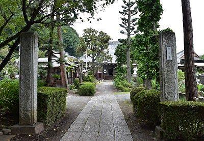 青蓮寺参道