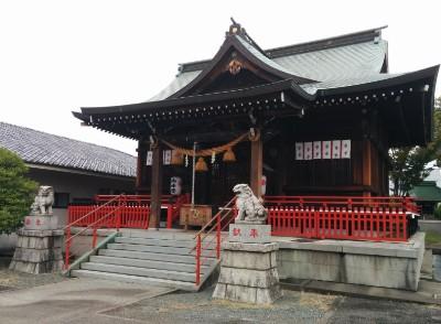 桐生雷電神社本殿