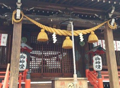 桐生雷電神社でお参り
