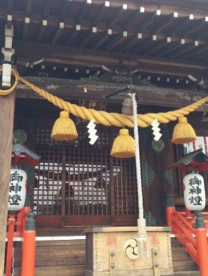 桐生雷電神社社殿
