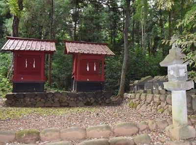 香取神社と鹿島神社