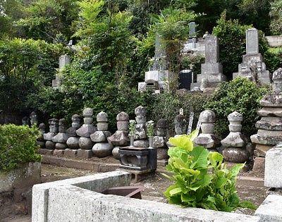 桐生氏の墓