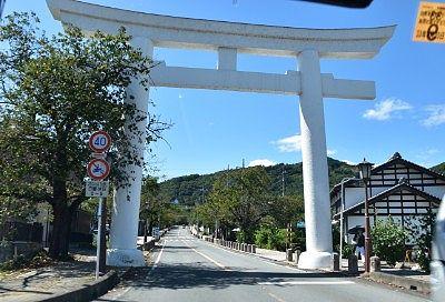 寳登山神社(宝登山神社)一の鳥居である大鳥居