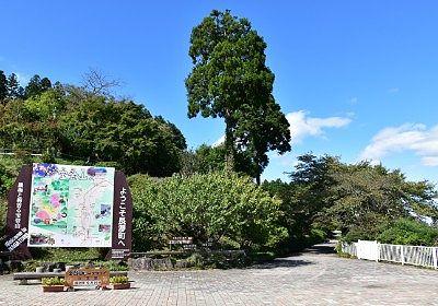 山頂駅駅前広場
