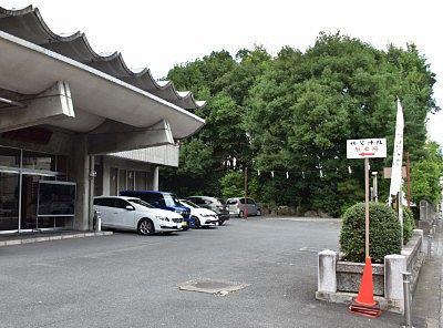 秩父神社駐車場