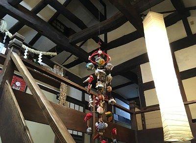 梁の見えた天井部