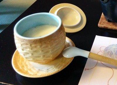朝食の茶わん蒸し