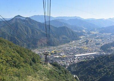 山頂駅近くからの絶景
