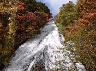湯滝の紅葉
