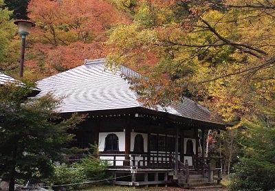 温泉寺の紅葉