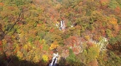 霜降滝の紅葉