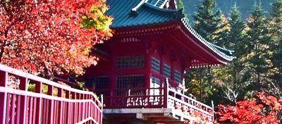 中禅寺の紅葉