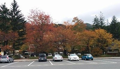 日光湯元温泉駐車場
