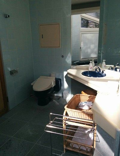 洗面所とトイレの様子