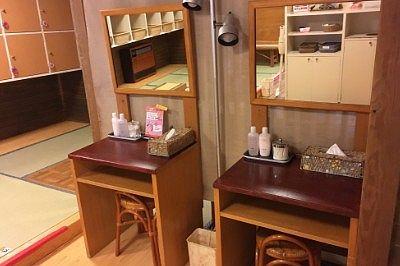 女湯化粧台