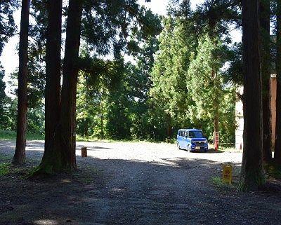 八海神社無料駐車場