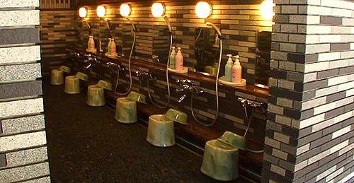 本格的な洗い場