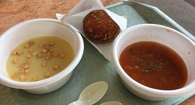 ハイジのカレーパンとスープ