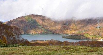 田代湖の景色