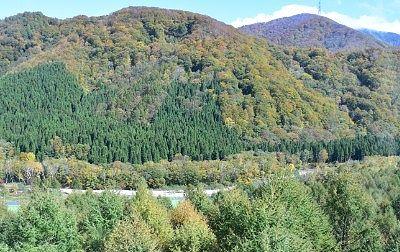 山麓駅周辺ドラゴンドラから見た景色
