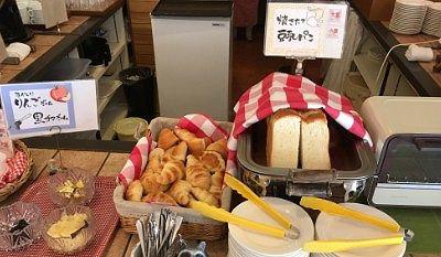 豆乳パン、クロワッサン