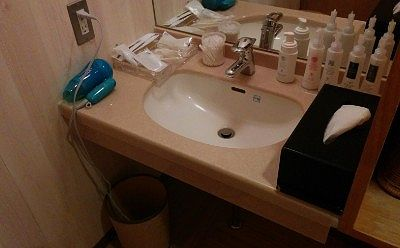 貸切風呂洗面台