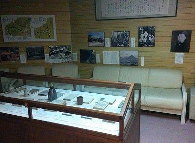 「若山牧水」の名作「みなかみ紀行」の展示資料室