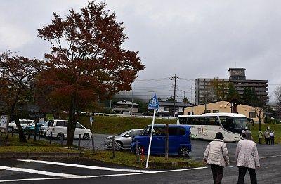 赤谷記念公園第一駐車場