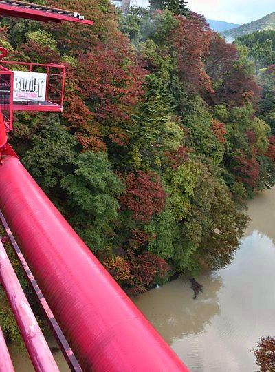 水面から高さ62m
