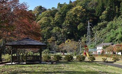カッパ公園の東屋