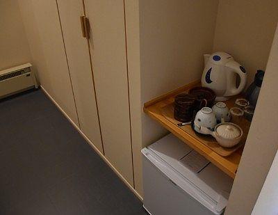 クローゼットやお茶セット