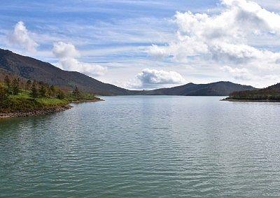 野反湖の景色