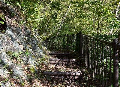 大仙の滝遊歩道