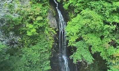 普段の大仙の滝