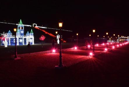 太田イルミネーション2019の街灯