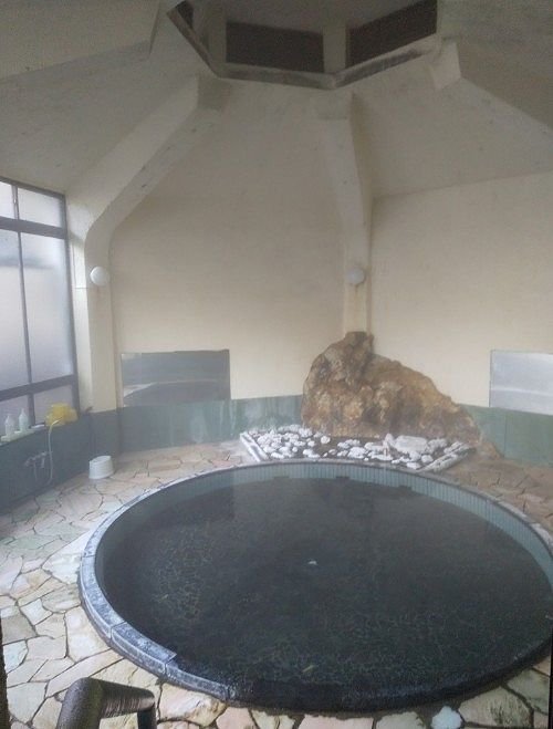 混浴大浴場の様子