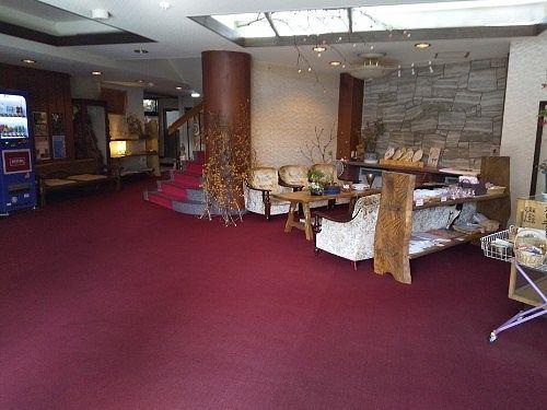 湯本館の内部