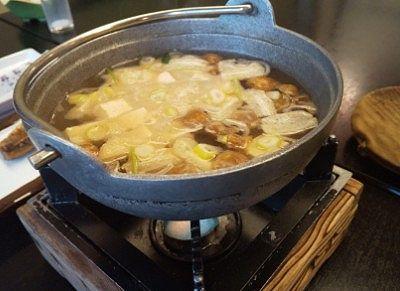 味噌汁の鍋