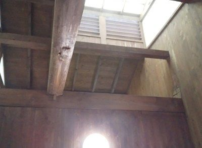竹の湯の天井部分